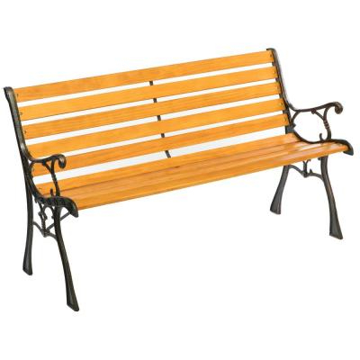 Pettit Steel Garden Benches Regarding Famous Steel – Outdoor Benches – Patio Chairs – The Home Depot (View 6 of 20)
