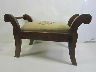 Pettit Steel Garden Benches Throughout Current 1900 1950 – Needlepoint Top – Vatican (View 17 of 20)