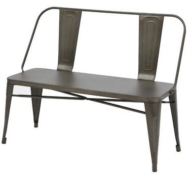 Pettit Steel Garden Benches With Regard To Popular Eulalie Garden Bench (View 8 of 20)