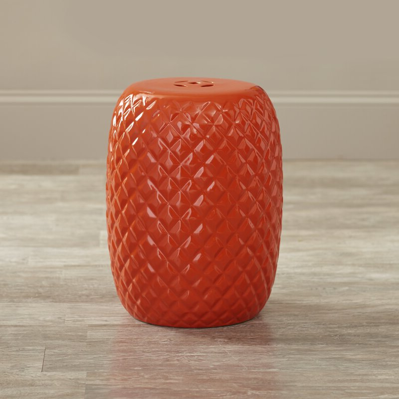 Popular Ceramic Garden Stool With Regard To Beckemeyer Ceramic Garden Stools (View 9 of 20)