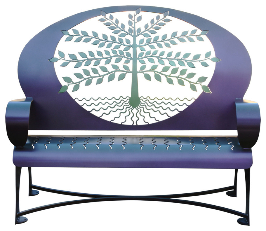 Popular Tree Of Life Bench In Tree Of Life Iron Garden Benches (View 9 of 20)