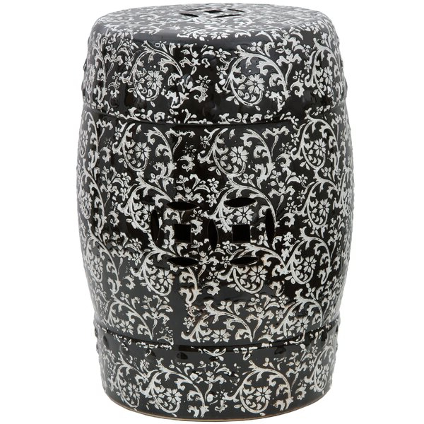 Porcelain Floral Stool (View 13 of 20)