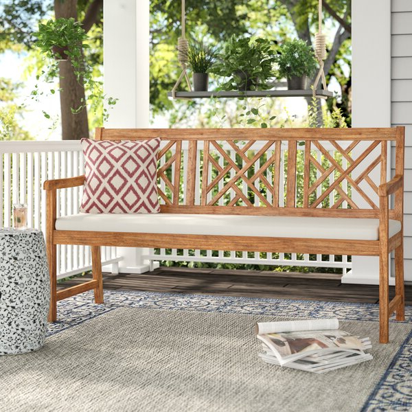 Preferred Elsner Acacia Garden Benches For Stanwich Acacia Garden Bench (View 19 of 20)