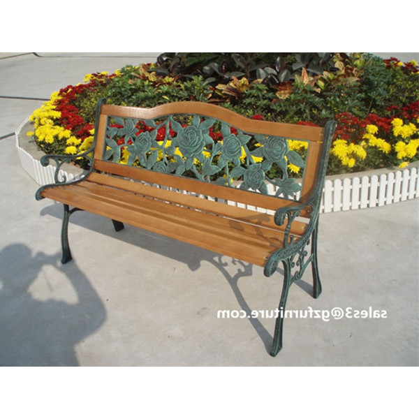 Preferred Rose Bloom Cast Iron Park Bench,resin Back Insert,traditional Outdoor Benches – Buy Cast Iron Park Bench,cast Iron Bench,outdoor Benches Product On Pertaining To Blooming Iron Garden Benches (View 12 of 20)