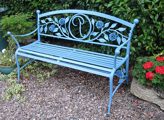 Public Seating And Park Benches Pertaining To Widely Used Pauls Steel Garden Benches (View 8 of 20)