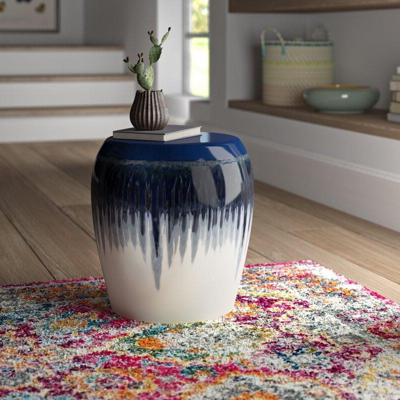 Recent Aloysius Ceramic Garden Stools Intended For Pooler Ceramic Garden Stool (View 20 of 20)