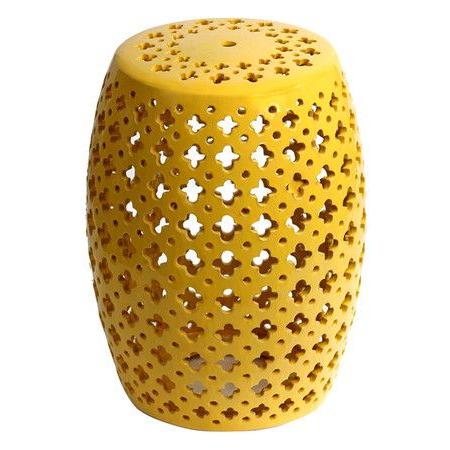 Recent Fifi Ceramic Garden Stools Intended For Accent Stools (View 14 of 20)