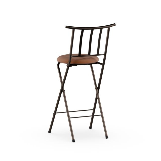 "Recent Tillia Ceramic Garden Stools Regarding Mainstays Slat Back Folding 30"" Bronze Bar Stool Multiple Colors (View 18 of 20)"