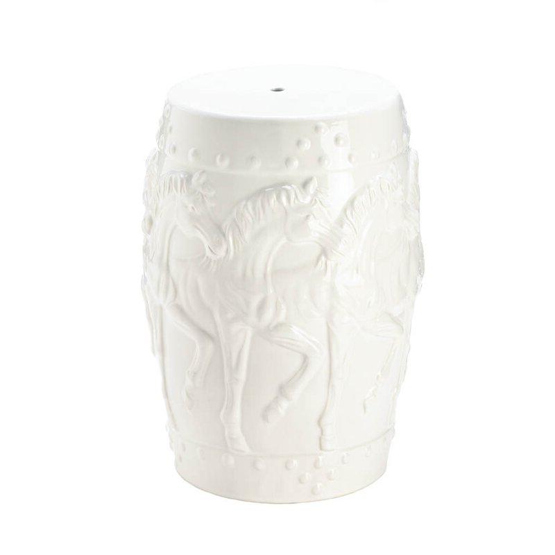 Renee Porcelain Garden Stools Pertaining To 2020 Askew Horses Ceramic Garden Stool (View 10 of 20)