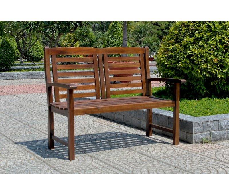 Rothstein Traditional Outdoor Wooden Garden Bench For Fashionable Gabbert Wooden Garden Benches (View 11 of 20)