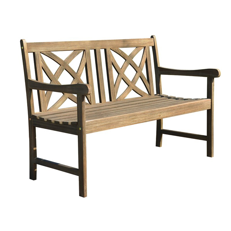 Shelbie Wooden Garden Benches Regarding Well Known Sol 72 Outdoor Shelbie Garden Bench (View 18 of 20)