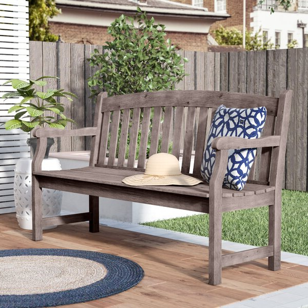 Slate Grey Outdoor Bench (View 13 of 20)