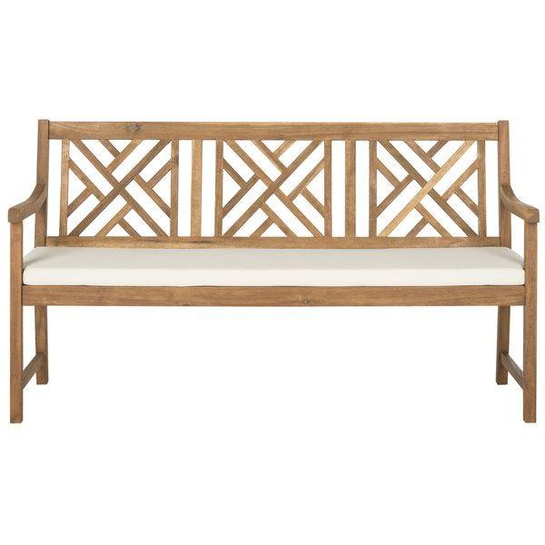 Stanwich Wooden Garden Bench (View 15 of 20)