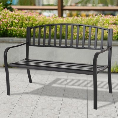 Strasburg Blossoming Decorative Iron Garden Benches With Well Liked Gentry Garden Bench (View 6 of 20)