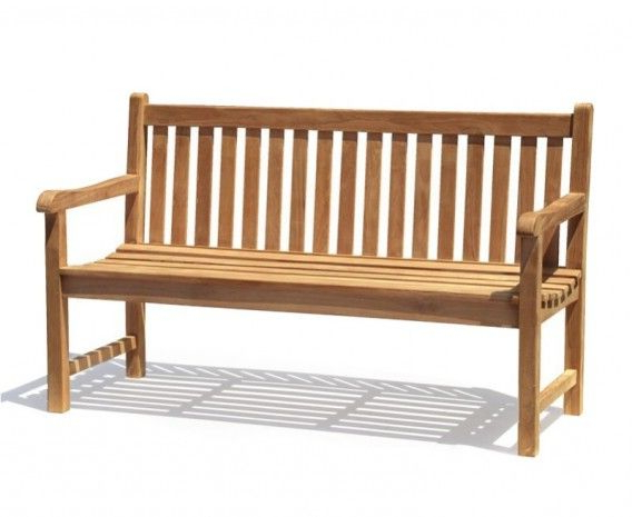 Teak Garden Bench, Wooden (View 10 of 20)