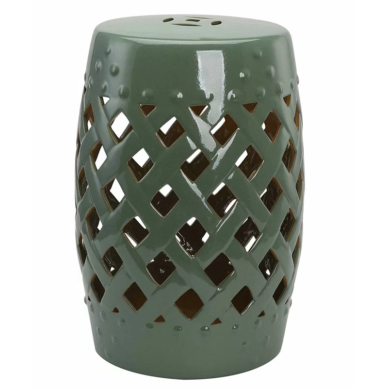 Tillia Ceramic Garden Stool In (View 4 of 20)