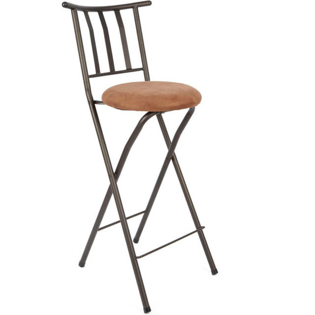 "Tillia Ceramic Garden Stools Intended For Latest Mainstays Slat Back Folding 30"" Bronze Bar Stool Multiple Colors (View 13 of 20)"