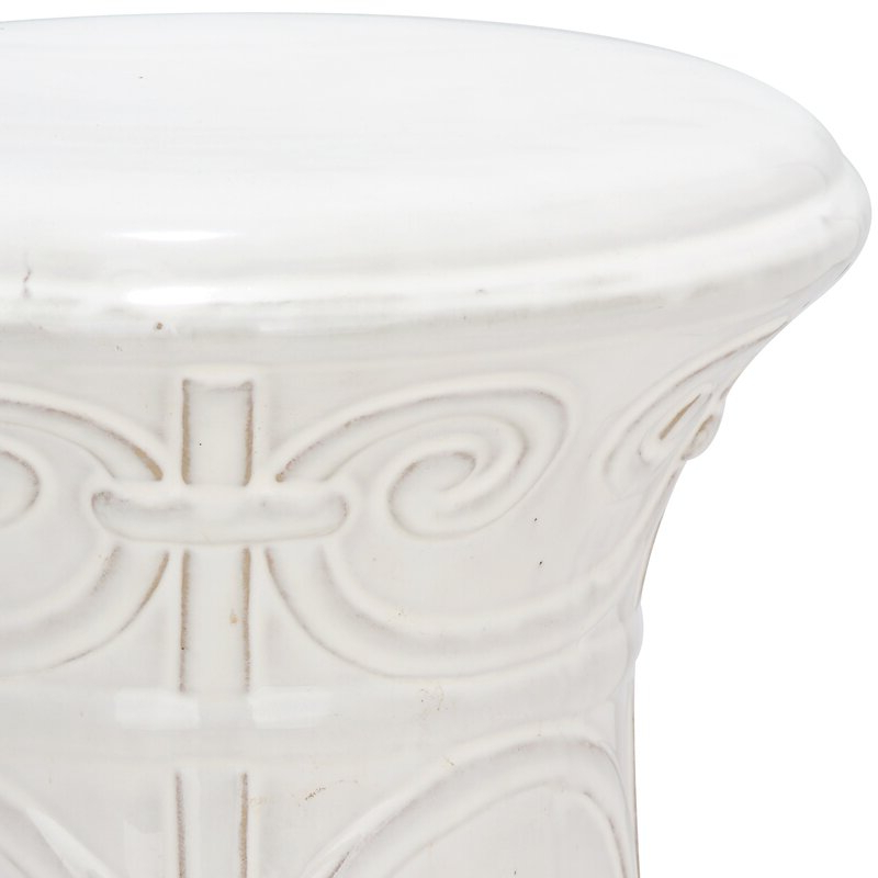 Trendy Imperial Ceramic Garden Stool Throughout Winterview Garden Stools (View 18 of 20)