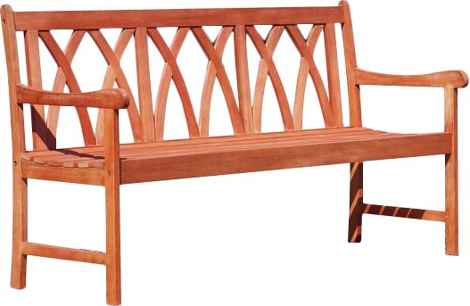 Trendy Shanklin Eco Friendly Outdoor Hardwood Garden Bench With Avoca Wood Garden Benches (View 14 of 20)
