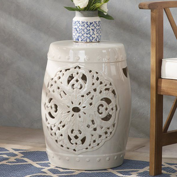 Trendy Weir Garden Stools Within Nagle Ceramic Garden Stool (View 4 of 20)