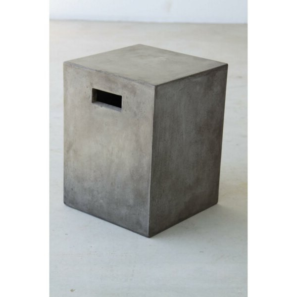 Tufan Cement Garden Stools With Well Known Concrete Garden Stool (View 5 of 20)
