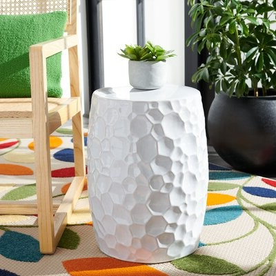 Unyay Ceramic Garden Stool Intended For Trendy Swanson Ceramic Garden Stools (View 15 of 20)