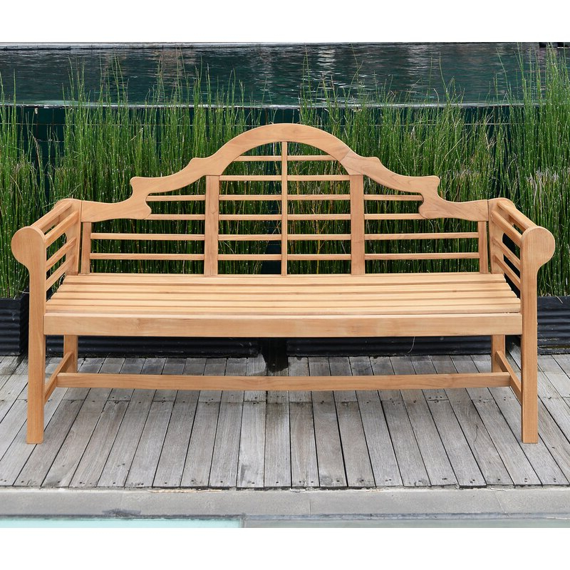 Wallie Teak Garden Bench With Regard To Newest Wallie Teak Garden Benches (View 3 of 20)