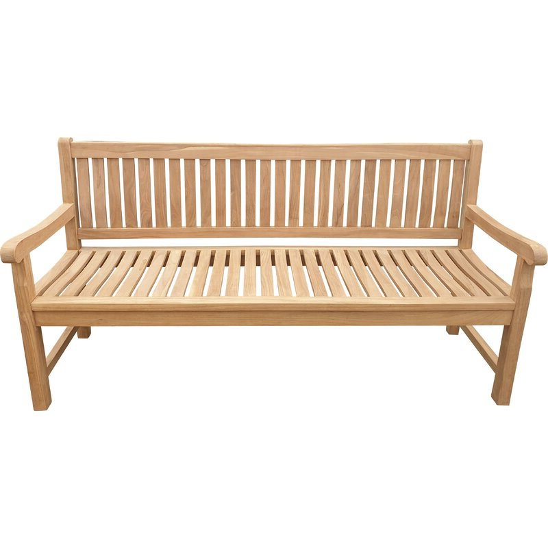 Wallie Teak Garden Benches In Latest Casson Teak Garden Bench (View 13 of 20)