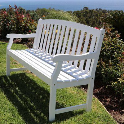 Wayfair In In Manchester Solid Wood Garden Benches (View 6 of 20)