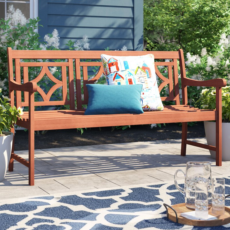Well Known Amabel Patio Diamond Wooden Garden Bench With Regard To Amabel Patio Diamond Wooden Garden Benches (View 12 of 20)