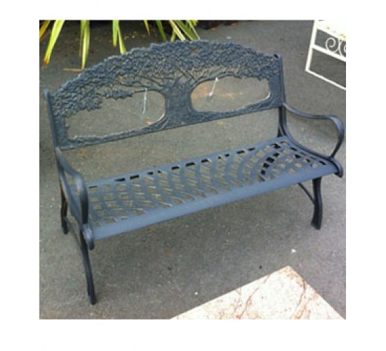 Well Known Cast Iron Tree Of Life Bench Pertaining To Tree Of Life Iron Garden Benches (View 3 of 20)