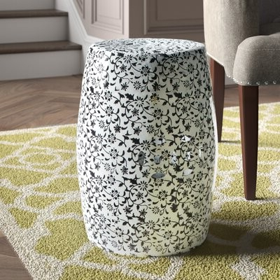 Well Known Ceramic Garden Stool With Regard To Engelhardt Ceramic Garden Stools (View 13 of 20)