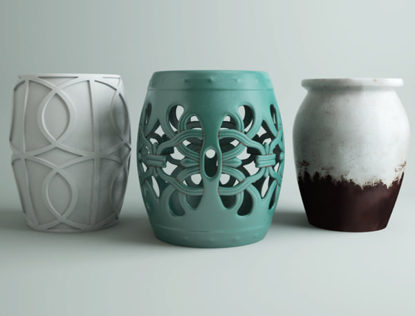 Well Known Ceramic Garden Stools Pertaining To Ceramic Garden Stools (View 18 of 20)