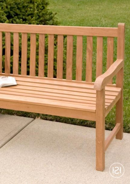 Well Known Harpersfield Wooden Garden Benches For Relax And Enjoy The View Of Your Pool Or Garden From The (View 12 of 20)