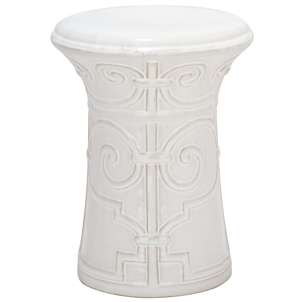 Well Known Middlet Owl Ceramic Garden Stools Throughout Imperial Ceramic Garden Stool (View 7 of 20)