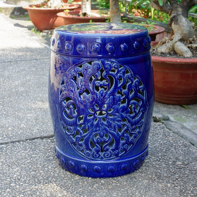 Well Known Oakside Ceramic Garden Stools With Regard To Nieto Ceramic Garden Stool (View 13 of 20)