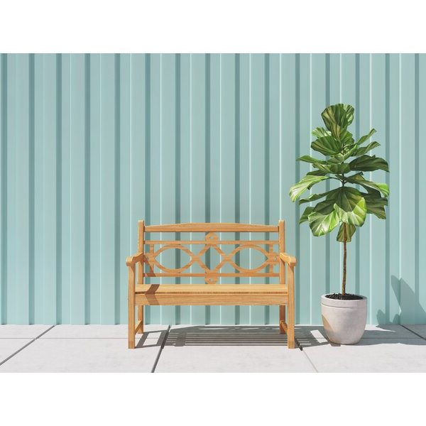 Well Liked Alfon Wood Garden Benches Within Teak Garden Bench (View 18 of 20)