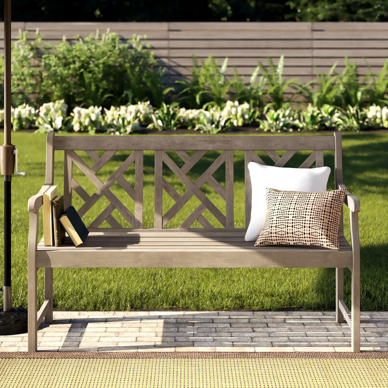 Well Liked Elsner Acacia Garden Bench With Elsner Acacia Garden Benches (View 4 of 20)