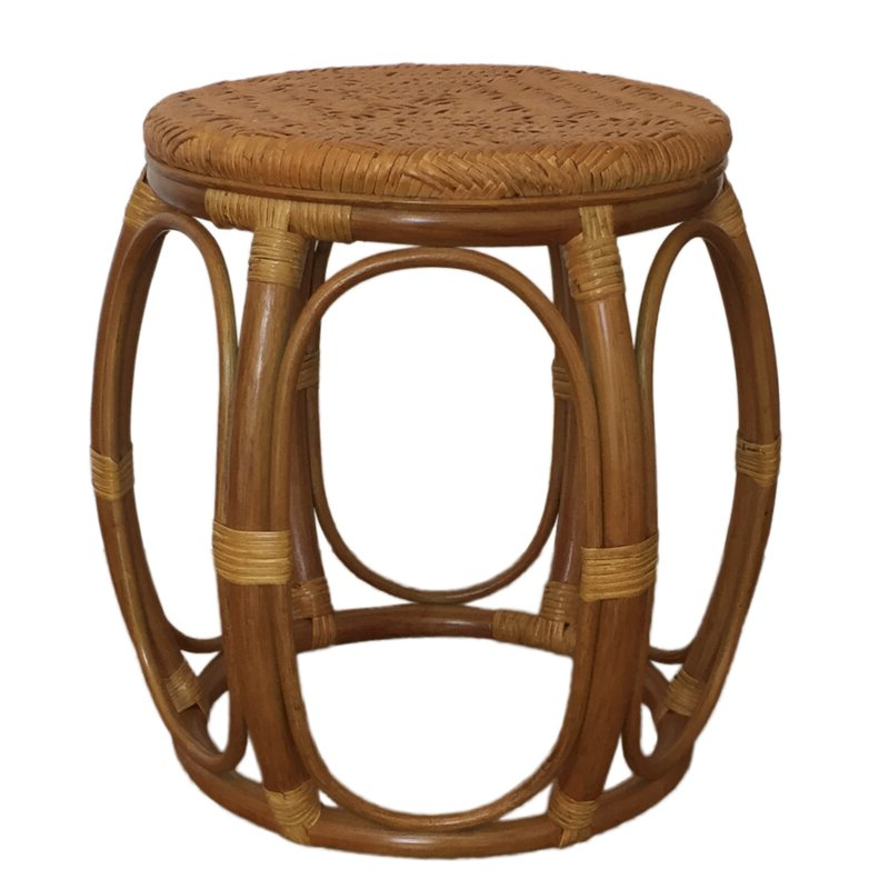 Well Liked Larry Rattan Wicker Garden Stool With Regard To Glendale Heights Birds And Butterflies Garden Stools (View 18 of 20)