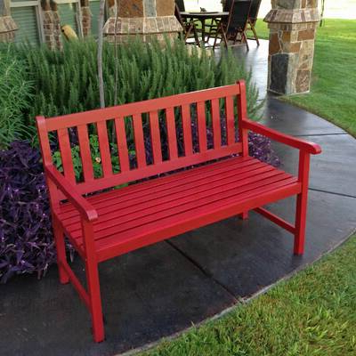 Well Liked Shelbie Garden Bench & Reviews (View 14 of 20)