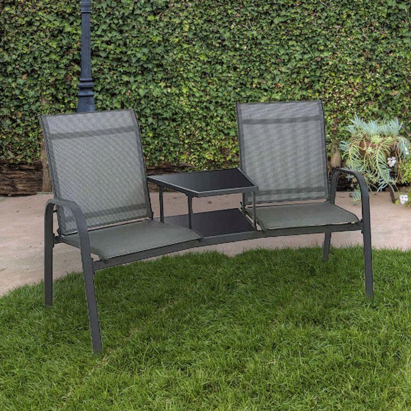 Wicker Tete A Tete Benches In Newest Buy Weybridge Tete A Tete Companion Love Seat Garden Bench (View 10 of 20)