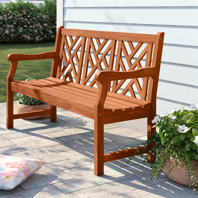 Widely Used Amabel Wooden Garden Bench With Amabel Wooden Garden Benches (View 2 of 20)