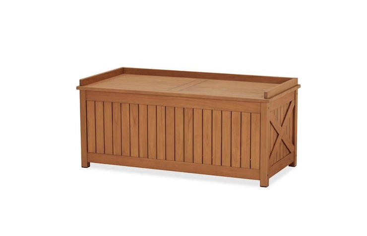 Widely Used Hampstead Teak Storage Trunk Within Hampstead Teak Garden Benches (View 16 of 20)