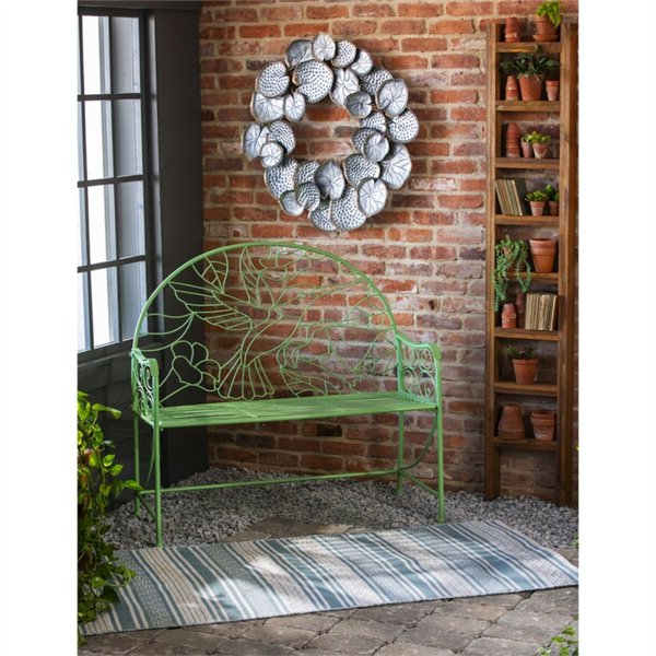 Widely Used Hummingbird Metal Garden Bench In Krystal Ergonomic Metal Garden Benches (View 8 of 20)