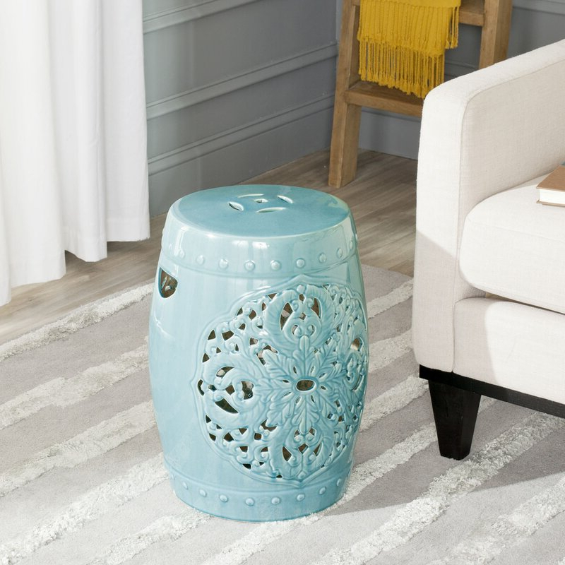Widely Used Nagle Ceramic Garden Stool Within Keswick Ceramic Garden Stools (View 14 of 20)
