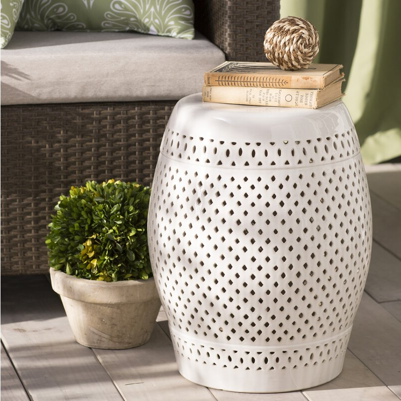 Widely Used Rivera Ceramic Garden Stool In Kelston Ceramic Garden Stools (View 16 of 20)