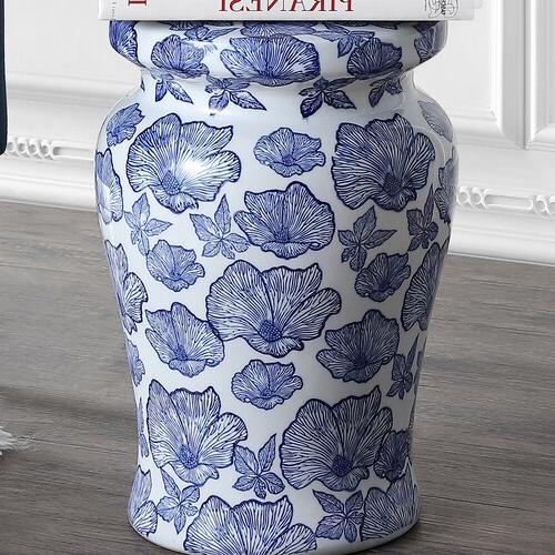 Featured Photo of Wilde Poppies Ceramic Garden Stools