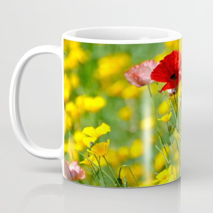 Wilde Poppies Ceramic Garden Stools Within 2020 Wild Poppies Coffee Mugteresachipperfieldstudios (View 17 of 20)