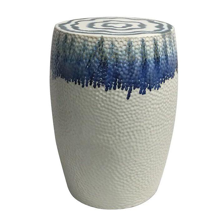 Wurster Ceramic Drip Garden Stools Within Trendy Wurster Ceramic Drip Garden Stool (View 4 of 20)