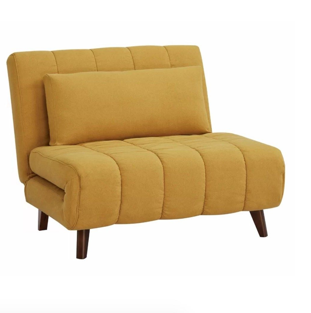 2019 31 Pieces Of Furniture From Wayfair With Such Good Reviews Intended For Bolen Convertible Chairs (View 10 of 20)